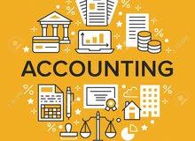 ( خبرة في المحاسبة المالية ) + العمل على البرامج المحاسبية