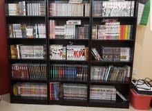 مجموعة مانجا كبيرة / huge manga collection