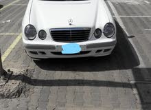 White Mercedes Benz E 240 2001 for sale