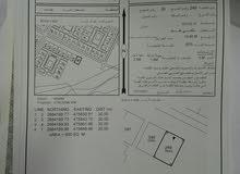 للبيع أرض سكنية في عوتب مربع الخامس زاوبة مفتوحة من 3جهات