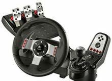 (((مطلوووووب )))ستيرنج Logitech g27 steering wheel بسعر طري بشكل مستعجل