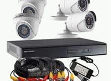 تركيب وتوريد كاميرات المراقبة واجهزة الحضور والانصراف وانظمه التحكم في الابواب ب