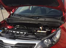 Red Kia Sportage 2013 for sale