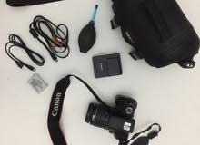 كانون 550D - Canon  - مع كامل ملحقاتها + عدسة EF-S 18-55mm f/3.5-5.6 IS (تم تخفيض السعر)