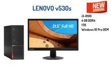 لينوفو Lenovo V530s i3 مع شاشة 21.5 HD