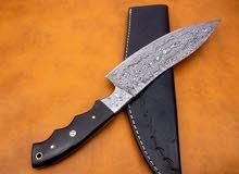 Custom Made Damuscus Steel Chef Knife