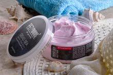 منتجات البحر الميت لشد وتقشير البشرة