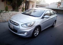 A VERY GOOD CONDITION HYUNDAI ACCENT 2015 MODEL  MIDDLE OPTION CAR FOR SALE 1.6 LITER