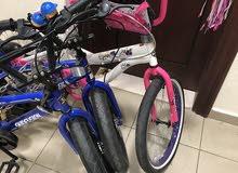 دراجات هوائية نظيفة جدا استعمال مرة واحدة فقط