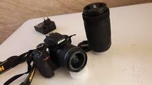 كاميرا نيكزن دي 3400 للبيع مستعمله نظيفه جدا