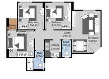 بمقدم 10000 فقط وقسط علي 7 سنوات بدون فوائد امتلك شقة 100 متر 3 غرف و 2 حمام