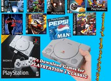PS1 CLASSIC PROGRAM + DOWNLOADING GAMES IN THE FLASH DRIVE