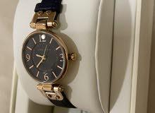 dark blue anne klein woman's watch in perfect condition. brand new