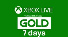 xbox gold 7 days