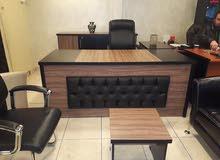 مكتب مدير 2م +جانبية + طاولة فقط 220 د