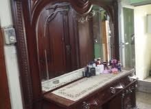 غرفة نوم مصريه خشب زان نظيفة