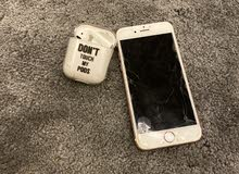 ايفون 6s وسماعه ابل للبيع iphone+airpod forsale