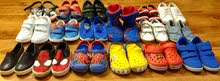 Boys Shoes - 02 to 03 Years - 17 Pairs.