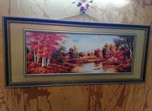 لوحة جدارية الطول 70 سم والعرض 160 سم