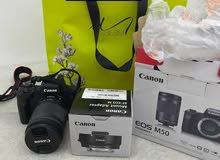 CanonE0S M50 جديده مع عدستين
