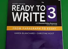 English book - Read to write  4th edition