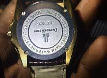 ساعة سويسرية اصلية درجه اولى