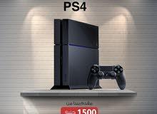 قسط بلاي ستيشن PlayStation 4 بمقدم 1500 جنيه فقط