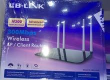 (access point+repeater+AP client) جهاز وايرلس متعدد المهمام وضمان 3 سنوات