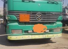 شاحنة موديل 97 هاف ميجا  حالة ممتازة شرط الفحص دنبه فرنسي دول لعاب