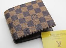 Authentic Louis Vuitton Damier Ebène canvas Brown Wallet