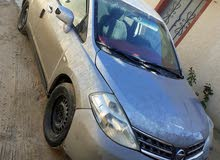 Used condition Nissan Tiida 2010 with 0 km mileage