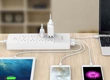 8 منافذ قطاع للطاقة و5 فتحات لل USB