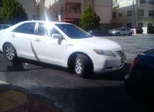 للإيجار تيوتا كامري 2008 نمره بيضاء فل اضافات اعلاى صنف والعديد من السيارات