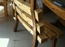 تصنيع  اثاث خشب طبيعي و ديكورات