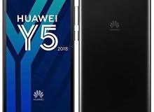 هاتف هواوي y5 2018 prime مستعمل شهر مقايضه بيy7prime2018