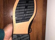 حذاء كلاركس مقاس 42 نعل طبى بالكرتونة وارد انجلترا