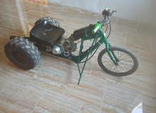 دراجه ناريه صنع يدووي