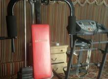 اجهزة رياضية للبيع شبة جديد