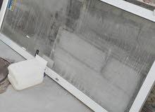 باب خشب  و باب المنيوم للبيع  0791866059