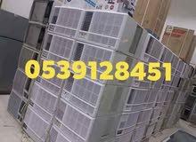 للبيع جميع أنواع المكيفات الشباك مستعمله طيب مع التوصيل والتركيب بضمان