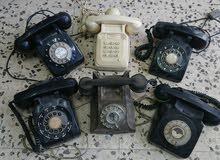 مجموعة تلفونات ارضية قديمة لعشاق التراث