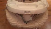 مرجاحة أطفال بالكهرباء مريحة في الاستخدام ، استخدام نظيف