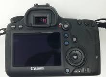 كاميرا canon 6d  للبيع كاش فقط