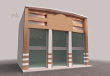 مطلوب اراضى بمصفوت للبدل بمبنى محلات جديد RK