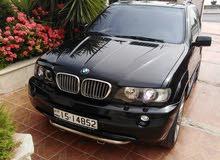 bmw x5 2002 بحاله جيده للبيع كرت ابيض فحص كامل