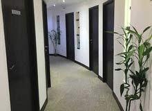 مكاتب فاخرة للايجار في مدينة الكويت _ القبلة  Furnished offices for rent in Kuwait city_ Qibla