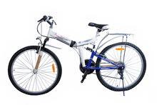 دراجة جبلية بعدة سرعات قابلة للطي مقاس 26 من بودي لاين