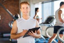التدريب الشخصى وعمل برنامج لتقليل الوزن او زيادة الوزن مخصص لكل فرد على حده