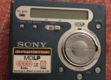 SONY Portable mini disc player and recorder with 10 Blank mini disk