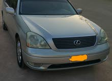 Used condition Lexus LS 2001 with +200,000 km mileage